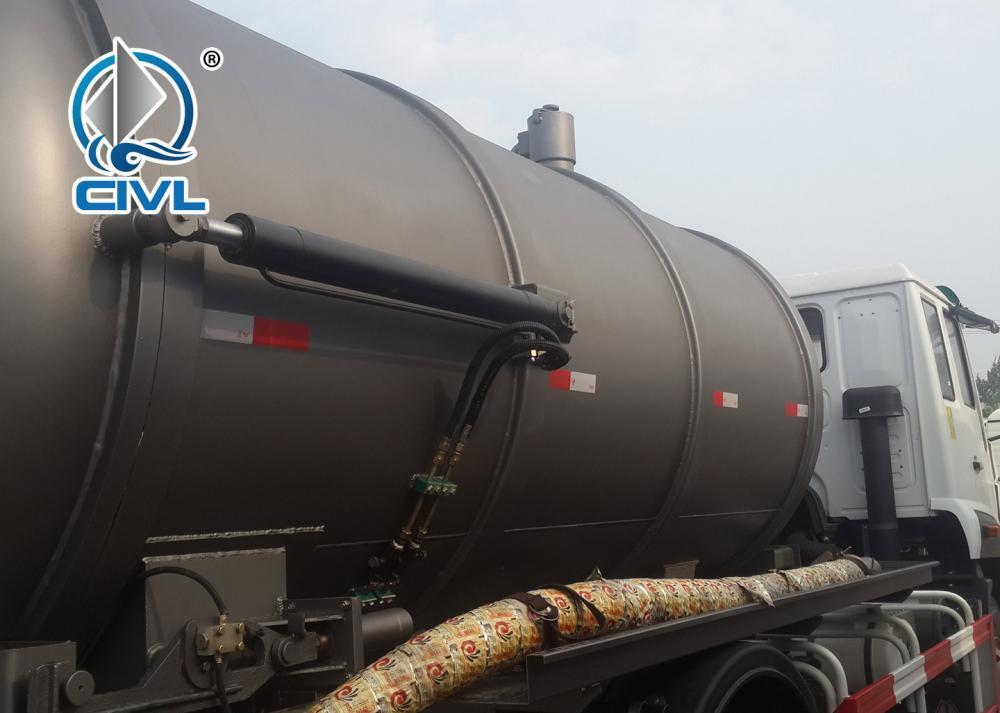 Sewage Suction Truck 16