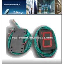Panneau de boutons d'ascenseur Hitachi (lumière rouge)
