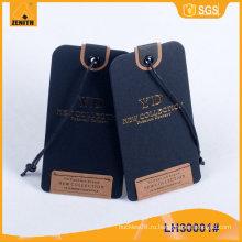 Одеяние PVC Hangtag одежды LH300x