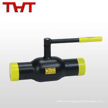 welding trunnion mounted air operated ball valve for sale