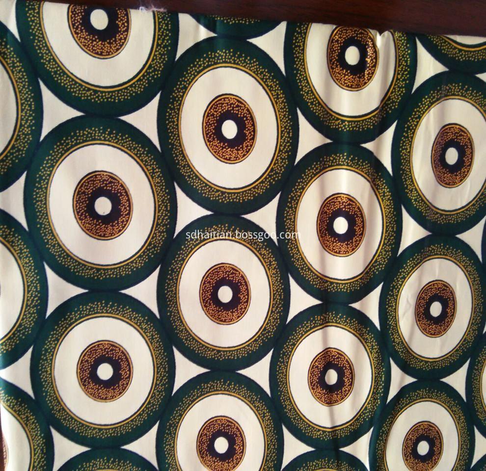 cotton imitation wax fabric