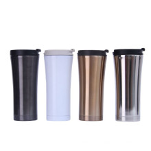 Customizable stainless steel thermal insulated coffee tumbler no handle