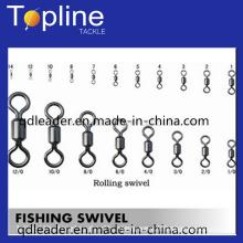 Nickle haute qualité et bon marché de pêche roulant pivotant pour la pêche