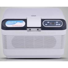 HF-15L DC 12 V / AC 220 V geladeira carro refrigerador do carro mini casa portátil e carro duplo uso geladeira do carro (certificado do CE)