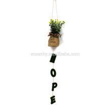 Открытый искусственный висячие растения декоративные