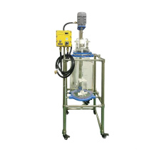 50 Litres Laboratory Chemical Double Layer Jacket Glass Reactor