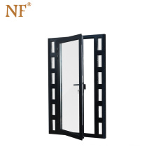 high quality wholesale price used impact glass entry doors