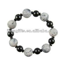 """Bracelet en perles à l'hématite magnétique 7.25 """""""
