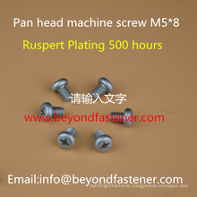 Pan Head Machine Screw Bolts Fastener