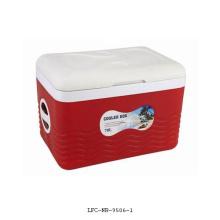 Caixa do refrigerador da roda de 70 litros, refrigerador plástico, refrigerador da lata de cerveja