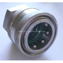 Raccord rapide en acier inoxydable pour laveuse à pression 3 bague torique 3/8 BSP femelle