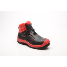 New Designed Shiny Smooth Leather Safety Shoes (HQ8002)