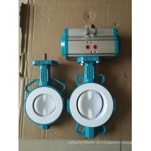 PTFE-ausgekleidetes Zwei-PCS-Absperrventil