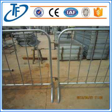 Portable verzinktem Stahl Traffic Crowd Control Barrier