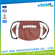 Promotion 100% cheap custom baseball drawstring bags