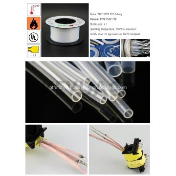 Tube PTFE thermorétractable électrique