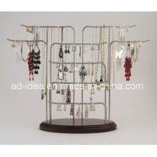 Последняя модель металлический стенд/ Дисплей для ожерелье серьги