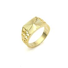 Xuping Anel Clássico 14k Banhado a Ouro
