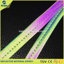 High Visibility Good Quality Elastic Silver Reflective Piping Bags