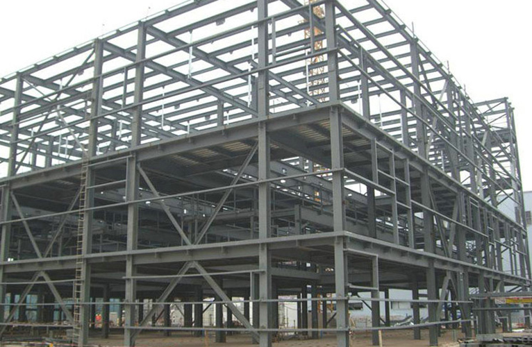 Structure Steel Workshop Building