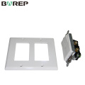 YGC-009 Hot sales hotel 1-gang PC material 4 switch light plate