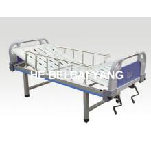 Cama de hospital manual de doble función a-100