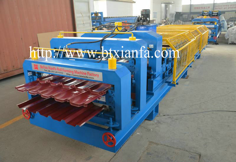 Roof Cladding Roll Forming Machine (4)