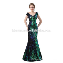 2018 Evening dress ladies new arrival mermaid long evening dress wholesale