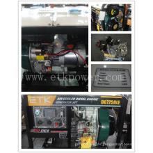 Generador de Diesle monofásico de potencia (6KW)