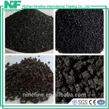 Venta al por mayor del petcoke grafitado bajo en carbono del alto sulfuro