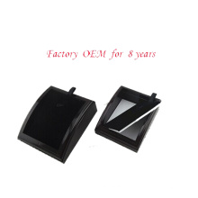Soporte de exhibición negro de madera del collar de la joyería al por mayor (PN-WCF-BK)