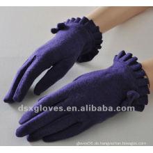 Mode Lila Kaschmir Handschuhe für Lady