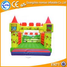 Bouncer coloridos do saltador do bebê do projeto, material bouncy do castelo do PVC de 0.55mm