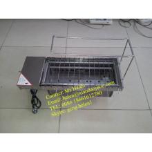 Tragbare automatische Holzkohle oder Gas BBQ Maschine