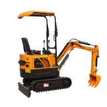 Mini excavadora hidráulica de maquinaria agrícola