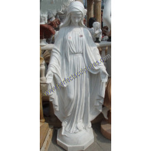Carving Stone Marble Virgin Mary Statue for Religious Sculpture (SY-X1627)