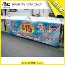 Fábrica de fornecedores de ouro vendendo diretamente banner publicitário de impressão de filme plástico retroiluminado