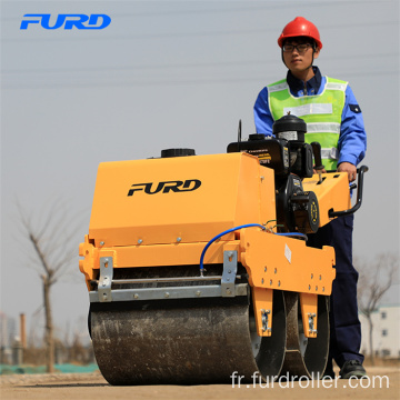 550kg Manual Vibratory Compaction Light Road Roller