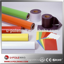 New PVC flexible isotropic permanent magnetic roll