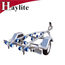 steel galvanised boat trailer with rollers