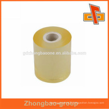 China Manufacturer transparent transparency PVC cling film wrap for food industrial packaging