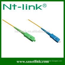 Shenzhen SC padrão fibra óptica cabo de remendo