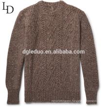 Latest sweater designs 100% cotton oversized cardigan sweater for men