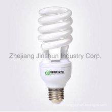 Ampoule E27 / B22 de la demi-spirale 20W25W30W CFL d'ampoule économiseuse d'énergie