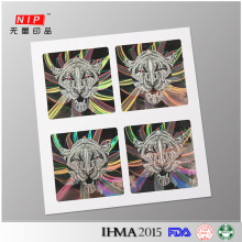 Professional Make Your Own Logo Hologram Stickers with Free Design
