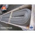 ASME SA213 TP347 Heat Exchanger U Bend tabung