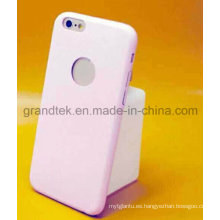 Cubierta trasera de cuero ultrafino de 1 mm para iPhone 6