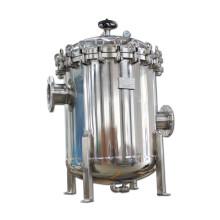Alojamento de filtro de água com vários compartimentos de menor pressão