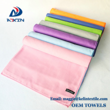 High Quality microfiber double-sided velvet sports sweat towel on sale