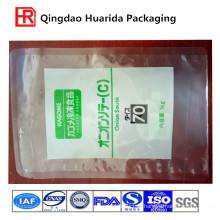 Flat Transparent Plastic Packaging Bag for Frozen Food